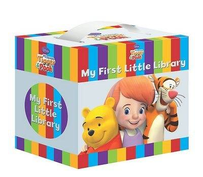 Disney My Friends Tigger and Pooh Little Library by