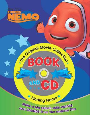 Disney Book and CD Finding Nemo by
