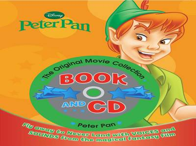 Disney Book and CD Peter Pan by