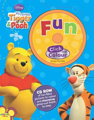 Disney CD Colouring My Friends Tigger and Pooh by