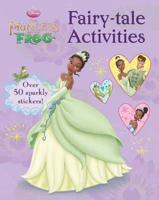 Disney Colour Activity Princess and the Frog by