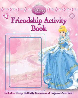 Disney Activity with Butterfly Stickers Princess by