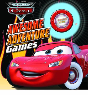 Disney Board Game Book Cars by