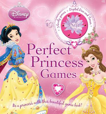 Disney Board Game Book Perfect Princess Games Princess by