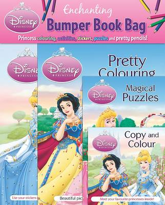 Disney Bumper Book Bag Princess by