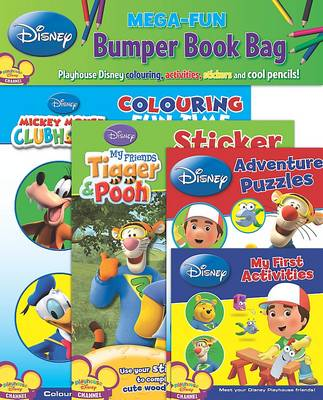 Disney Bumper Book Bag Playhouse Disney by