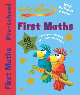 Gold Stars Pre-School Workbook First Maths by