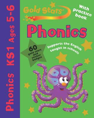 Gold Stars Pack (Workbook and Practice Book) Phonics 5-6 by