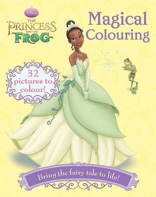 Disney Colouring Princess and the Frog by