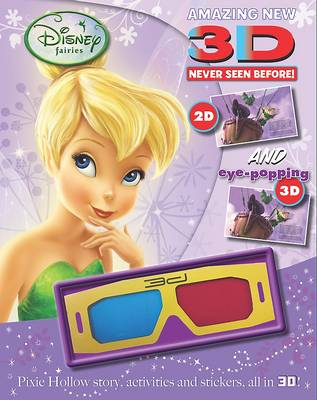 Disney 3d Story and Activity Fairies by