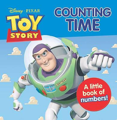 Disney Mini Board Books - Toy Story Counting Time by