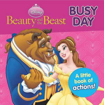 Disney Mini Board Books - Princess - Belle A Busy Day by