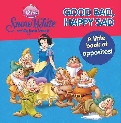 Disney Snow White and the Seven Dwarfs Good Bad, Happy Sad by