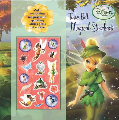 Disney Secret Jewel Storybook Fairies by