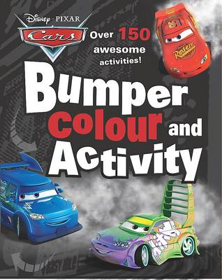 Disney Bumper Colouring and Activity Cars by