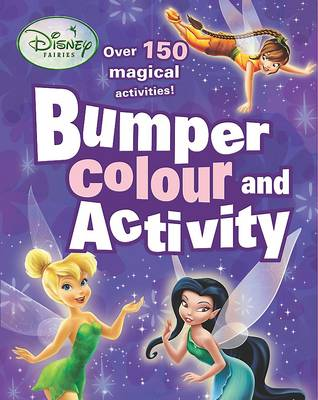 Disney Bumper Colouring and Activity Fairies by