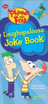 Disney Joke Book - Phineas and Ferb by Kitty Richards