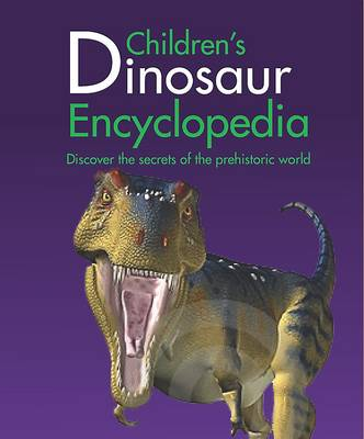 Mini Children's Reference Encyclopedia of dinosaurs by