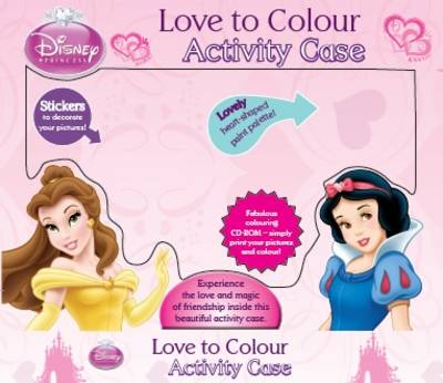 Disney Boxset - Princess Love to Colour by