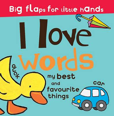 Great Big Lift the Flap I Love Words by