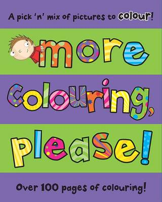 Bumper Colouring and Activity Pad My Activity Time by