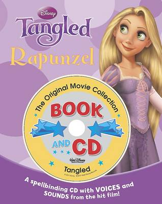Storybook and CD - Disney Tangled by