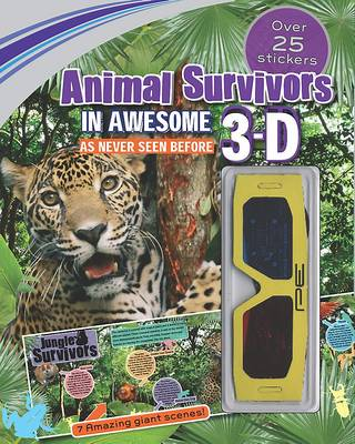 3d Sticker Scene Animal Survivors (Endangered Animals) by