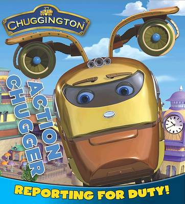 Chuggington Board Book Action Chugger by