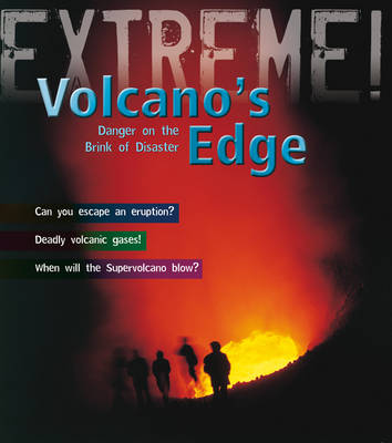 Volcano's Edge Danger on the Brink of Disaster by Anna Claybourne