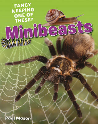 Minibeasts Age 5-6, Average Readers by Paul Mason
