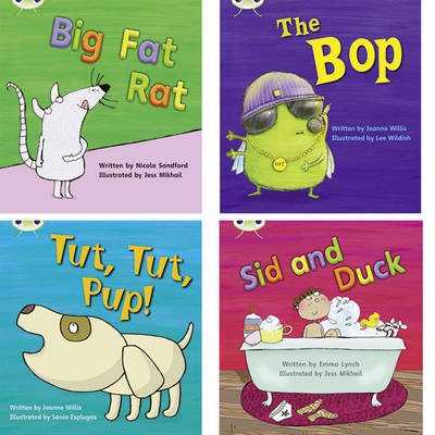Learn to Read at Home with Phonics Bug: Pack 2 (Pack of 4 Fiction Books) by Jeanne Willis, Emma Lynch, Nicola Sandford