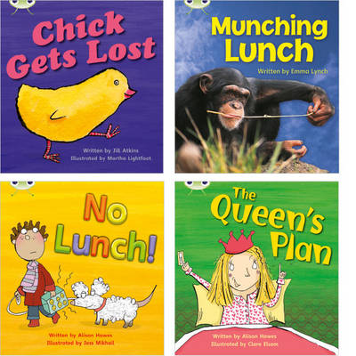 Learn to Read at Home with Phonics Bug: Pack 4 (Pack of 4 Reading Books with 3 Fiction and 1 Non-Fiction) by Jill Atkins, Emma Lynch, Alison Hawes