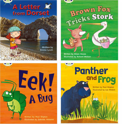 Learn to Read at Home with Phonics Bug: Pack 5 (Pack of 4 Reading Books with 3 Fiction and 1 Non-Fiction) by Emma Lynch, Alison Hawes, Paul Shipton