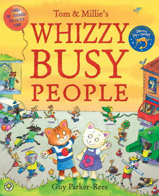 Whizzy Busy People by Guy Parker-Rees