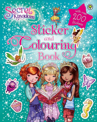 Sticker and Colouring Book by Rosie Banks