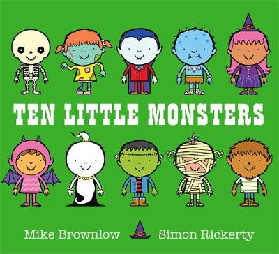 Ten Little Monsters by Mike Brownlow