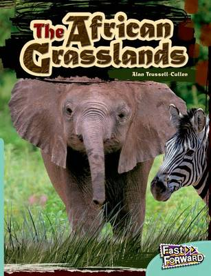 African Grasslands Fast Lane Turquoise Non-Fiction by Alan Trussell-Cullen