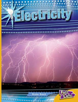 Electricity Fast Lane Gold Non-Fiction by Nicholas Brasch