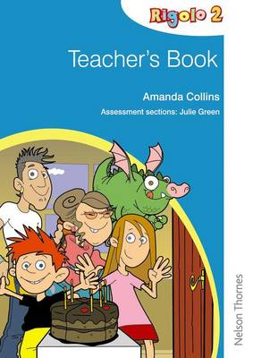 Rigolo 2 Teacher's Book by Amanda Collins