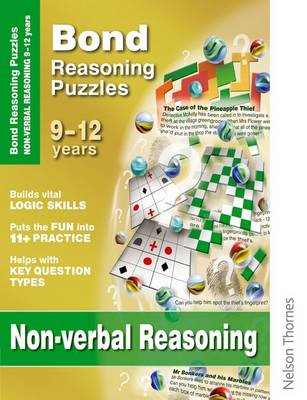 Bond Reasoning Puzzles - Non-Verbal Reasoning 9-12 Years by Lynn Adams