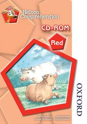Nelson Comprehension CD-ROM Red Red Level by Sarah Lindsay