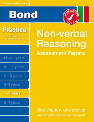 Bond Non-Verbal Reasoning Assessment Papers 7-8 Years by Andrew Baines