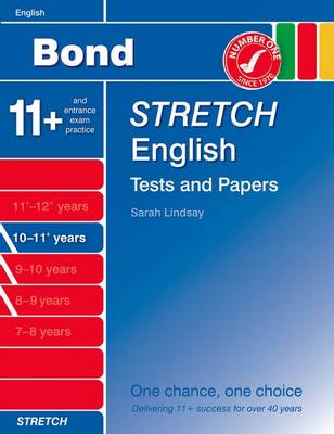 Bond Stretch English Tests and Papers 10-11+ Years by