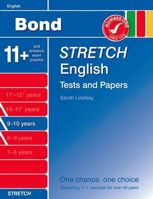 Bond Stretch English Tests and Papers 9-10 Years by