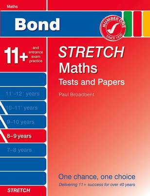 Bond Stretch Maths Tests and Papers 8-9 Years by