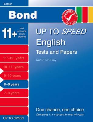 Bond Up to Speed English Tests and Papers 8-9 Years by