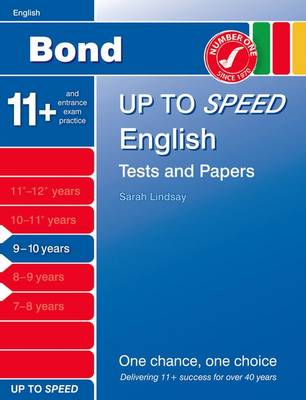 Bond Up to Speed English Tests and Papers 9-10 Years by
