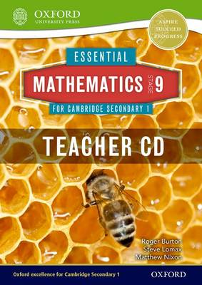 Essential Mathematics for Cambridge Secondary 1 Stage 9 Teacher CD-ROM by Roger Burton, Steve Lomax, Matthew Nixon
