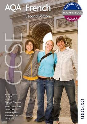 AQA GCSE French Teacher Book by Jenny Gwynne