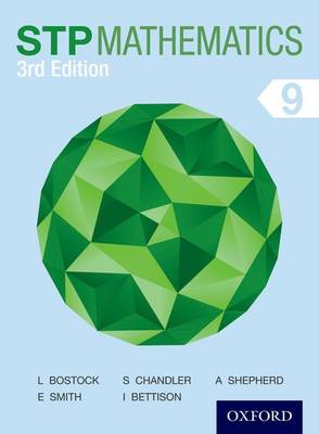 STP Mathematics 9 Student Book by Brian Bostock, Linda Bostock, Ewart Smith, Ian Bettison